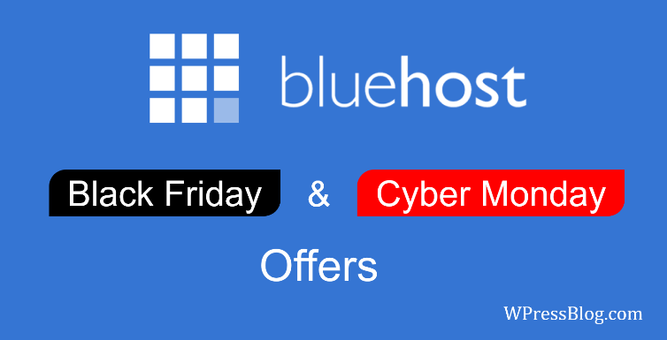 Bluehost Black Friday pakkumised 2019