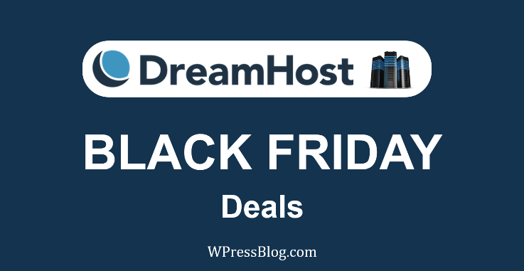 DreamHost Black Friday aanbiedinge 2019