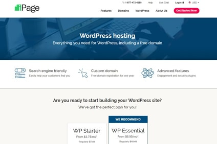 ipage-wordpress