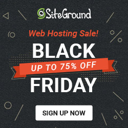 SiteGround Black Friday-salg 2019