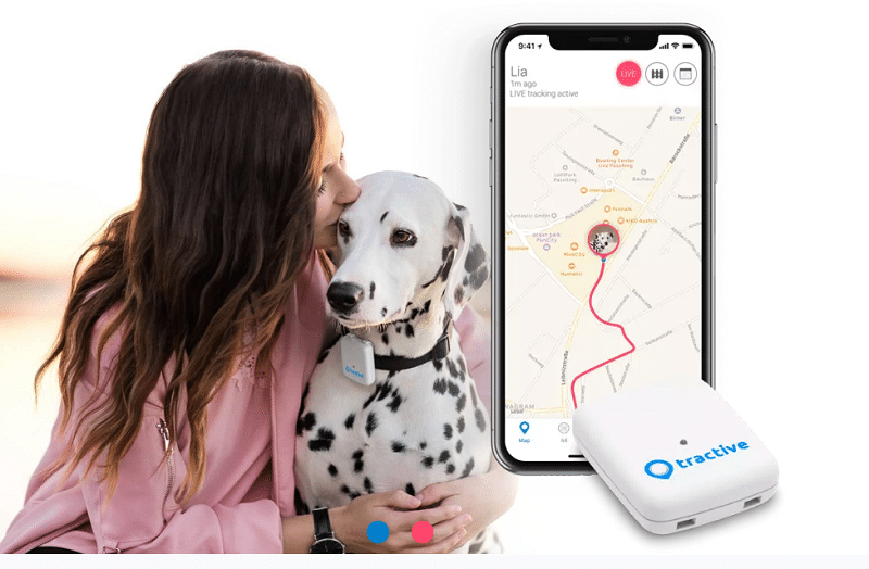 Tractive, Pet tracker