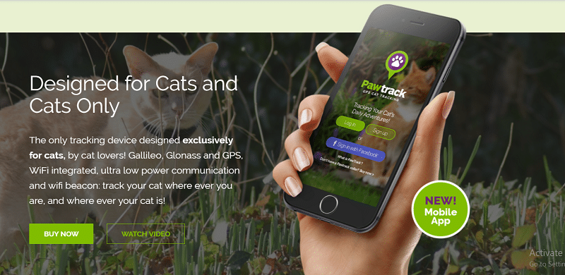 Pet Tracker, Pawtrack