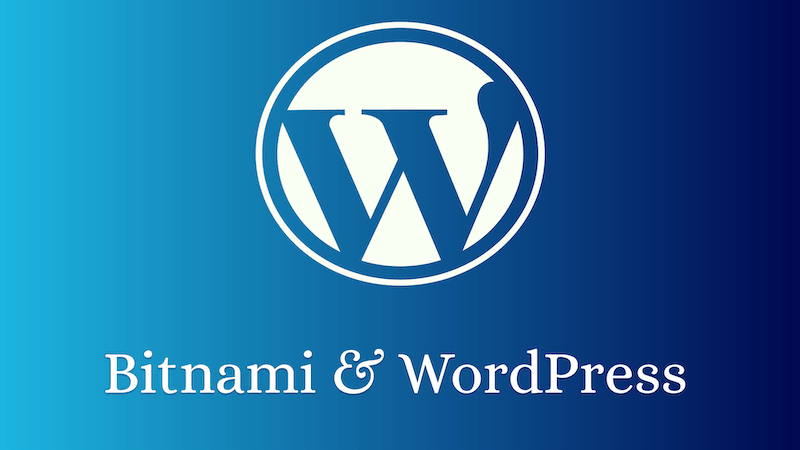 bitnami wordpress